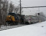 CSX 170 on K056 oil train, SEPTA 452